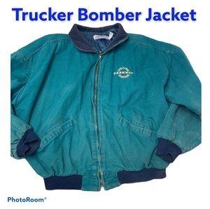 Vintage Dunbrooke Trucker Workwear Barn Shop XL